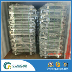 Warehouse Foldable Storage Metal Wire Mesh Box or Container for Sale pictures & photos