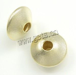 Sterling Silver Saucer Beads (090929141323)