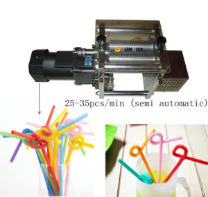 Long Whorl Flexible Artistic Straw Making Machine pictures & photos