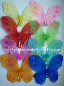 Butterfly Fairy Wing with Colorful Glitter