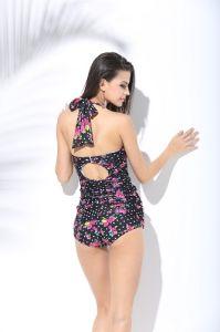 2017 New Tankini Swimwear 1PCS Monokini Padded Swimsuit pictures & photos