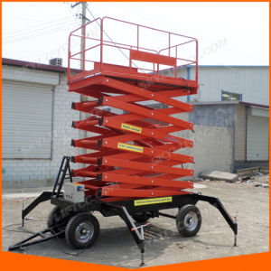 12m Movable Scissor Lift Hydraulic Mobile Lift From China pictures & photos