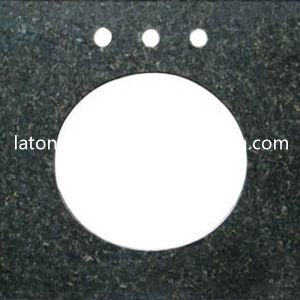 Blue Pearl Granite Vanity Top Countertop for Kitchen / Bathroom / Bar pictures & photos