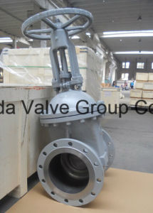 GOST cast steel WCB wedge gate valve PN16 Z41H-16C pictures & photos