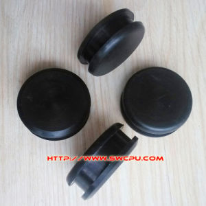 Good Quality Black Round Plastic Parts pictures & photos
