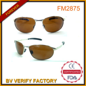 FM2875 Yellow Lens Pilot Metal Sunglasses for Driving pictures & photos