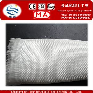 Polyester Long Fiber Spunbond Needle Punched Nonwoven Geotextile 200g pictures & photos