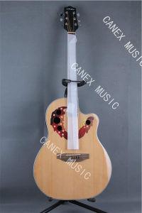 Acoustic Electric Guitar / Poplar Grade Acoustic Guitar (CMAG-141C-41) pictures & photos