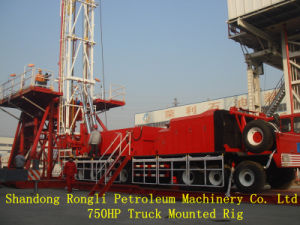 750HP 3000m Truck-Mounted Rig for Oilfield Equipment for Sale