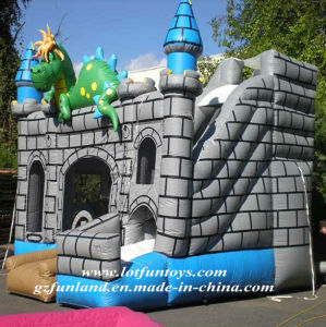 Inflatable Bouncer Game - Dragon Bouncy Combo Castle