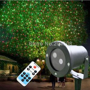 Outdoor Moving with Motor Waterproof RF Remote Control Red&Green Laser Stage Light pictures & photos