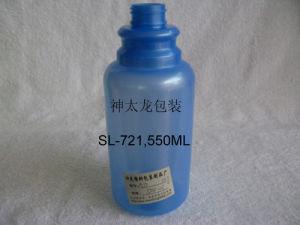 Dark Blue Plastic Lotion Bottle 300ml (SL-721)
