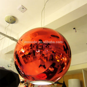 Modern Chrome Globe Suspension Mirror Metal Ball Ceiling Pendant Lamp for Office Made in China pictures & photos