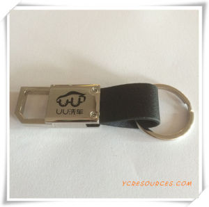 Promotional Gift Metal Keyring with Logo (PG03101) pictures & photos
