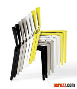 Modern Patio Garden Designer Furniture Stacking Plana Chair pictures & photos