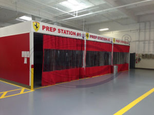 American Standard Wld-PS-C2 Prep Station/Sanding Booth pictures & photos