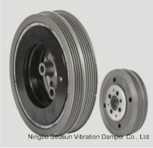 Crankshaft Pulley / Torsional Vibration Damper for VW 038105243f pictures & photos