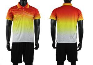 New Season Spain National Team Sublimation Men Soccer Shirts pictures & photos