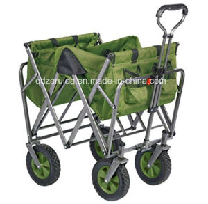 The Mac Sports Folding Utility Wagon in Green/ Folding Cart pictures & photos