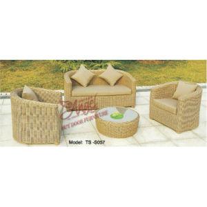 Patio Rattan Outdoor Leisure Modern Sofa for Garden