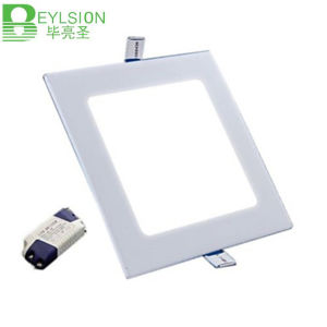 15W Square Super Slim LED Panel Lights pictures & photos