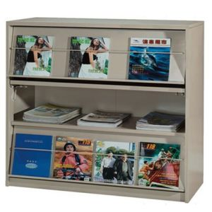 Children Book Cabinet Kids Simple Bookshelf Magazine Display Book Cabinet/Book Shelf pictures & photos