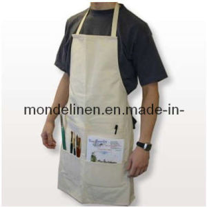 Linen Artist Apron with Pockets (AP-007)