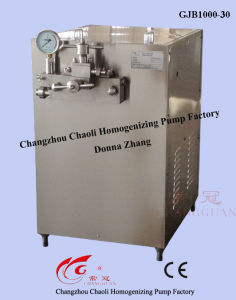 Juice Beverage High Pressure Homogenizer (GJB1000-30) pictures & photos