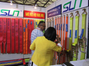 3t*10m Webbing Sling with Double Eye Safety Factor 6: 1 pictures & photos