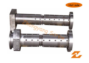 Cold Feed Screw and Barrel for Rubber Extruder Machine pictures & photos