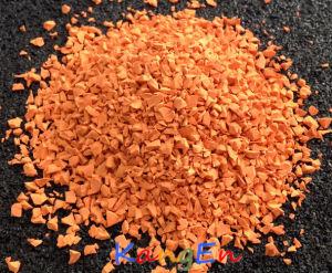 Durable EPDM Rubber Granule (KE06 Orange) pictures & photos