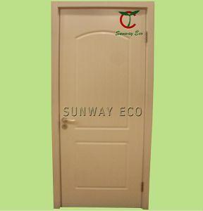 Safety and Waterproof WPC Entry Door WPC Swing Door (TCD-05)