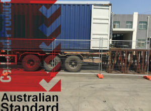 2100*2400mm Hot Dipped Galvanized Temporary Fencing for Australia