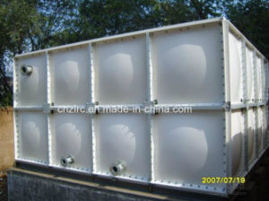 UV Resistant Fiberglass Composite Water Storage Tank Container/ Water Tank pictures & photos