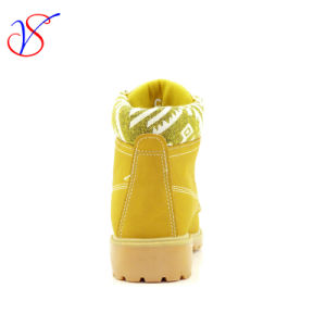 2016 New Style Injection Women Work Boots Shoes for Job with Quick Release (SVWK-1609-027 TAN) pictures & photos