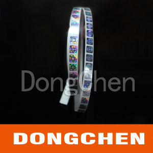 Silver Security Pet Laser Roll Hologram Sticker pictures & photos
