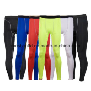 High Quality Custom Compression Pants Men Tights, Mens Running Tights pictures & photos