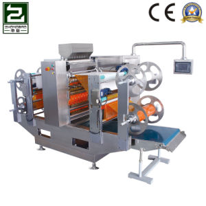 Ice Granule Pad Double Film Four Side Sealing Packing Machine pictures & photos