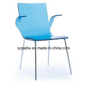 Acrylic Armrest Chair