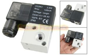 1/8′′ Direct Acting 3V1-06 3/2 Way Air Control Solenoid Valves DC24V