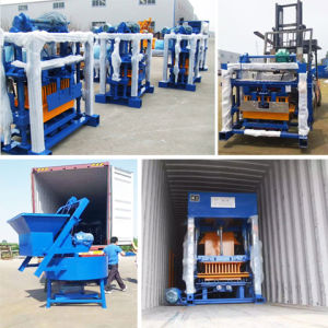 Concrete Block Machine South Africa Qt4-24 Dongyue Machinery Group pictures & photos
