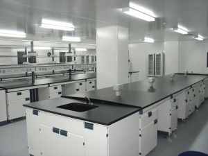 High Quality Stainless Steel Laboratory Workbench (PS-WB-004) pictures & photos