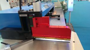 Copper Aluminum CNC Busbar Sawing pictures & photos