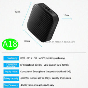 Newly Developed Fashionable Mini Portable GPS Tracker (A18) pictures & photos