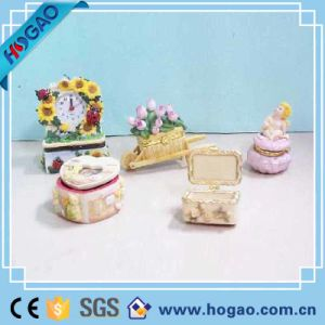 Polyresin Resin Conch Trinket Jewelry Box pictures & photos
