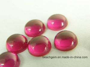 Ruby 5# Cabochon Stone for Jewelry pictures & photos