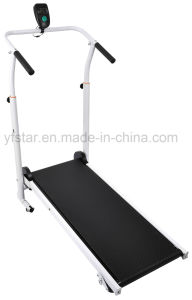 Cheap Foldable Home Use Light Manual Treadmill, T-100 pictures & photos
