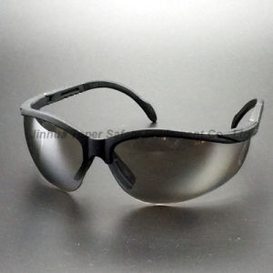 Adjustable Temple Safety Glasses Sunglasses Eye Protection (SG107) pictures & photos