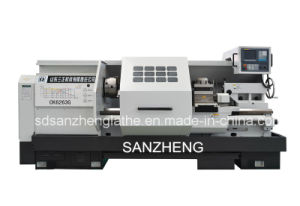 China Industrial Big Bore CNC Lathe From Factory (CK6263G)