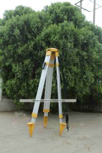 Telescopic Tripod with Dome Head Surveying Total Station (LJA10-D, Q) pictures & photos